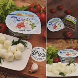 """Сыр моцарелла """"Мини"""". Вес: 125 гр - фото 4660"""