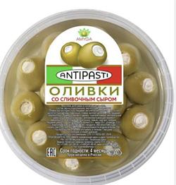 "Сыр ""Оливки с мягким сыром"" ОП 150 гр - фото 4905"
