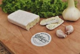 Сыр Камамбер с зеленью. Вес: 125 гр