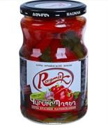 Перец красный маринованный Ragmak. Вес: 660 гр