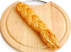 """Сыр """"Косичка"""" копченая маленькая. Вес: 100 гр"""